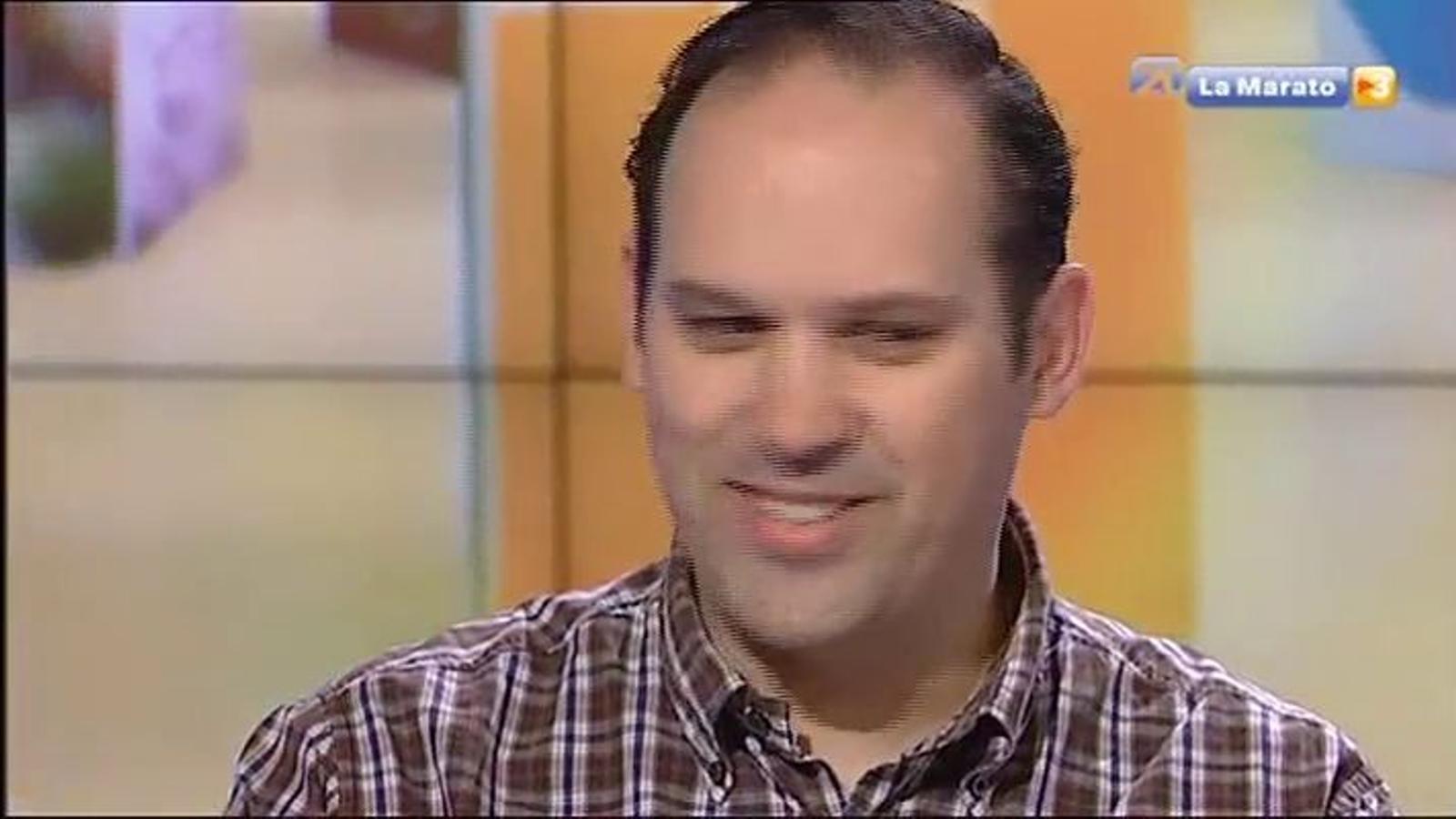 Eduardo Bueso, el pare de la Nuna, que va rebre un cor nou amb només 5 anys