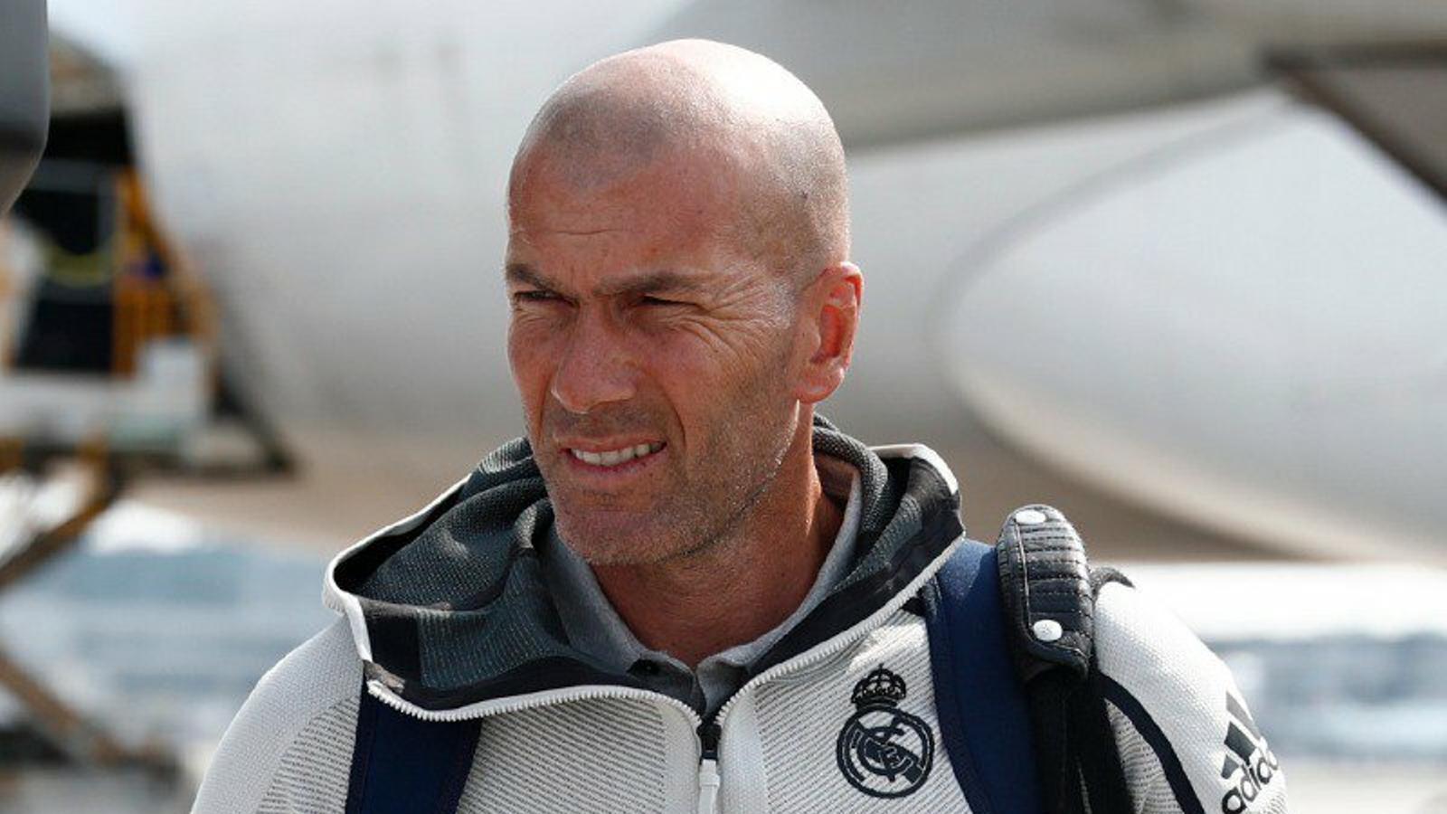 """Zidane abandona la concentració del Madrid per """"motius personals"""""""