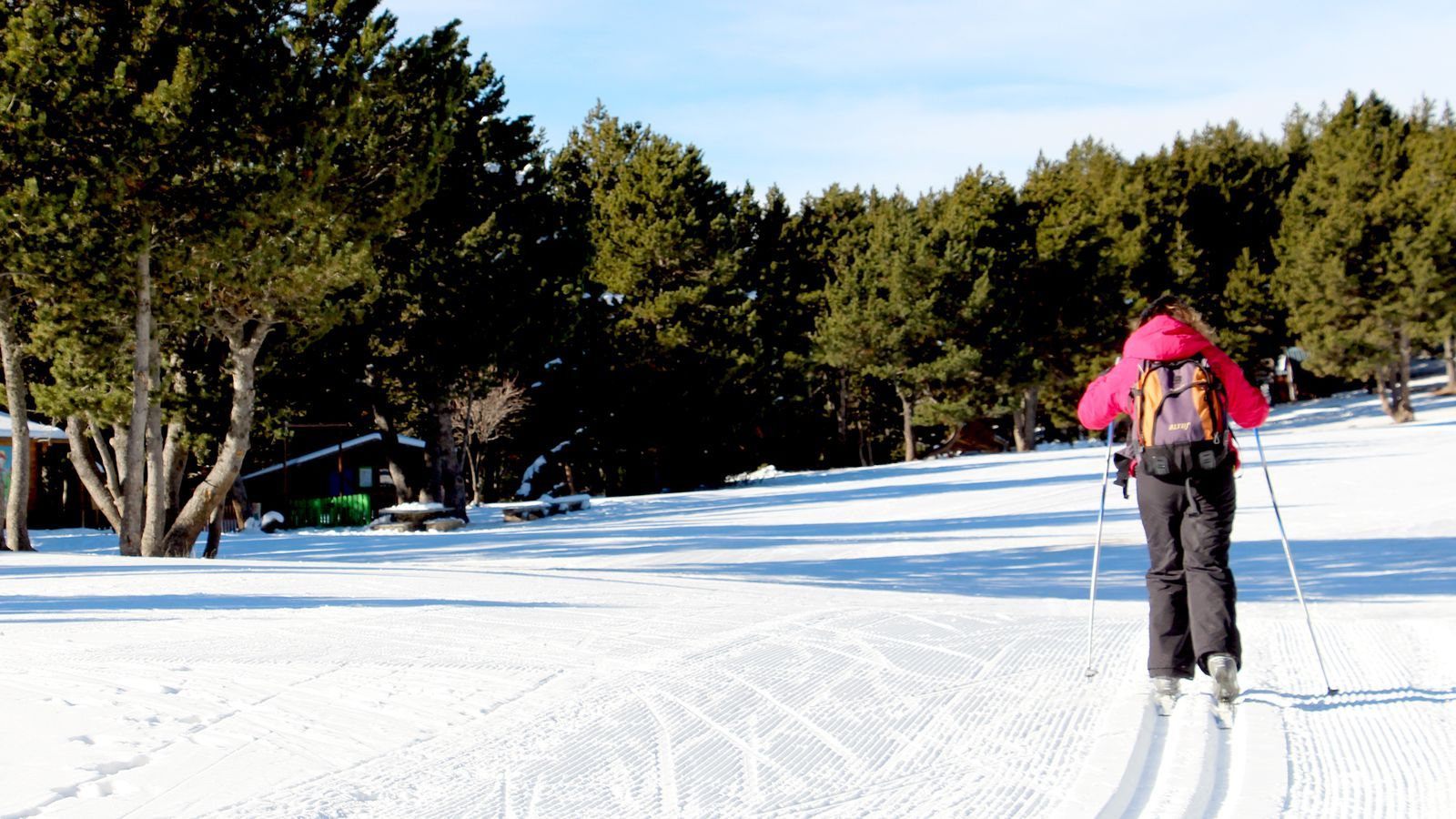 Les activitats de neu han estat les de més acceptació al parc. / C. G. (ANA)