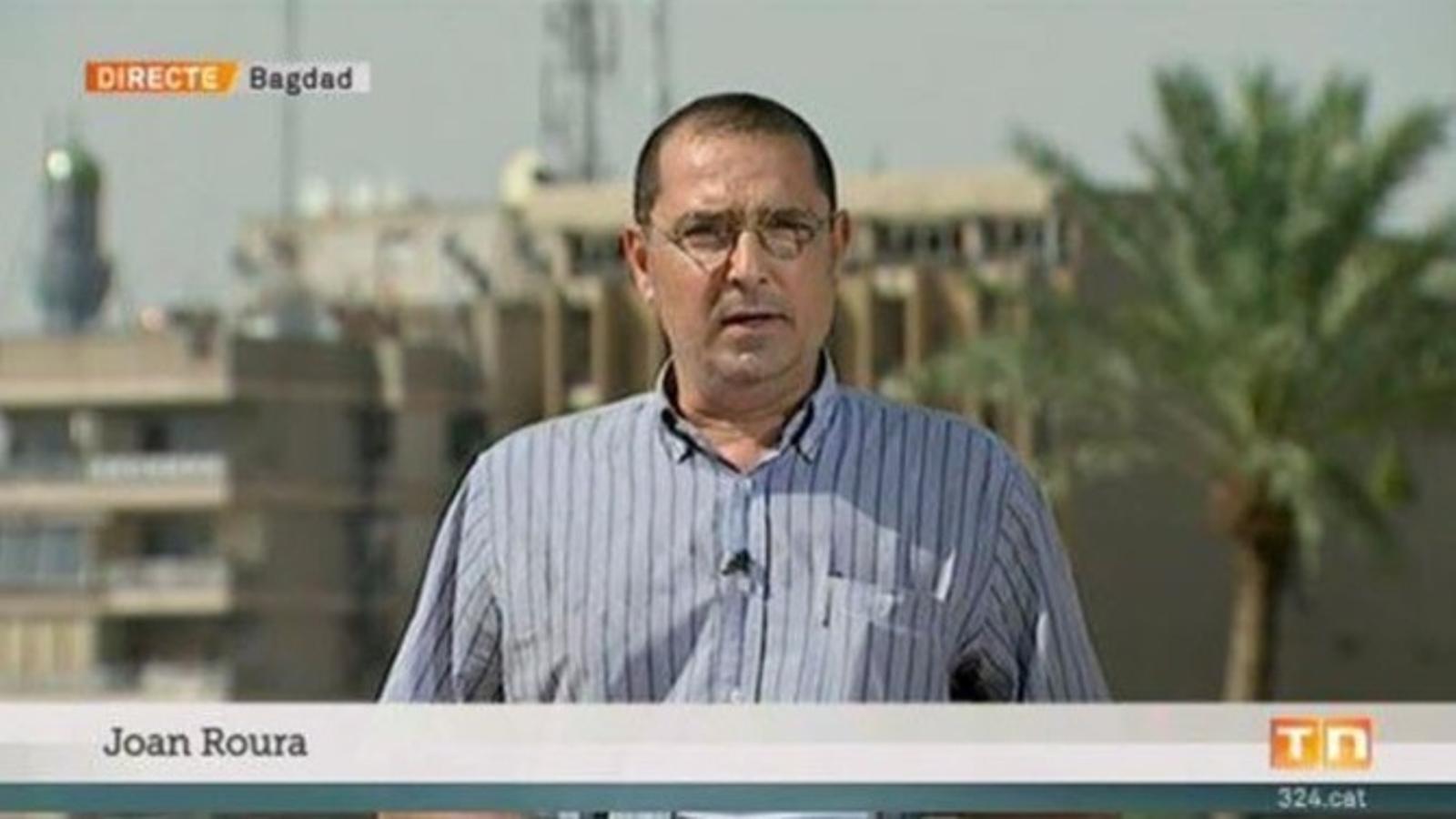 Joan Roura ha cobert els principals conflictes de l'Orient Mitjà