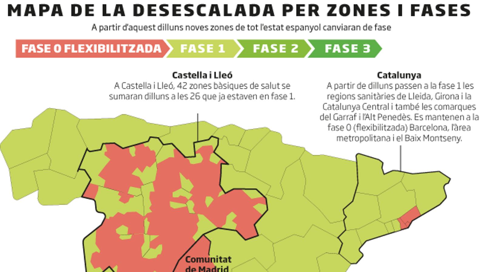Barcelona i l'àrea metropolitana flexibilitzen les mesures
