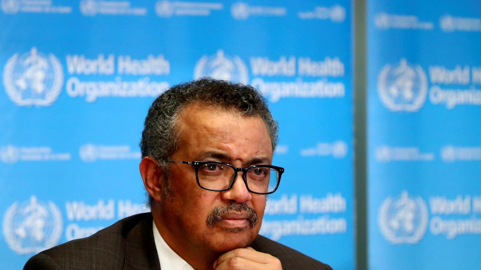 Tedros Adhanom, director general de l'Organització Mundial de la Salut, en una imatge d'arxiu