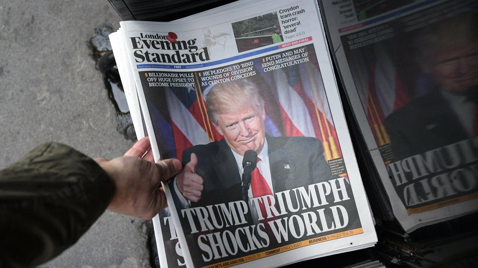La bombolla mediàtica en què cada cop més viu aïllada la gent explica que, per exemple, moltes persones no entenguessin la victòria de Trump.