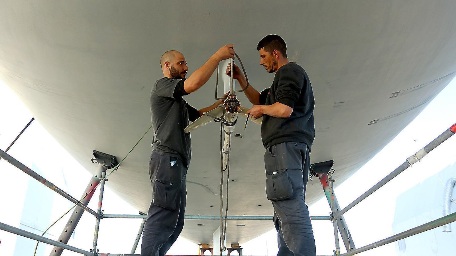 Manteniment i reparacions De vaixells, un sector puixant