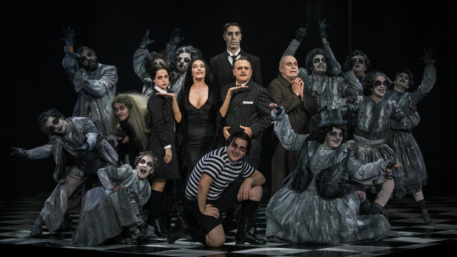 La Familia Addams arriba