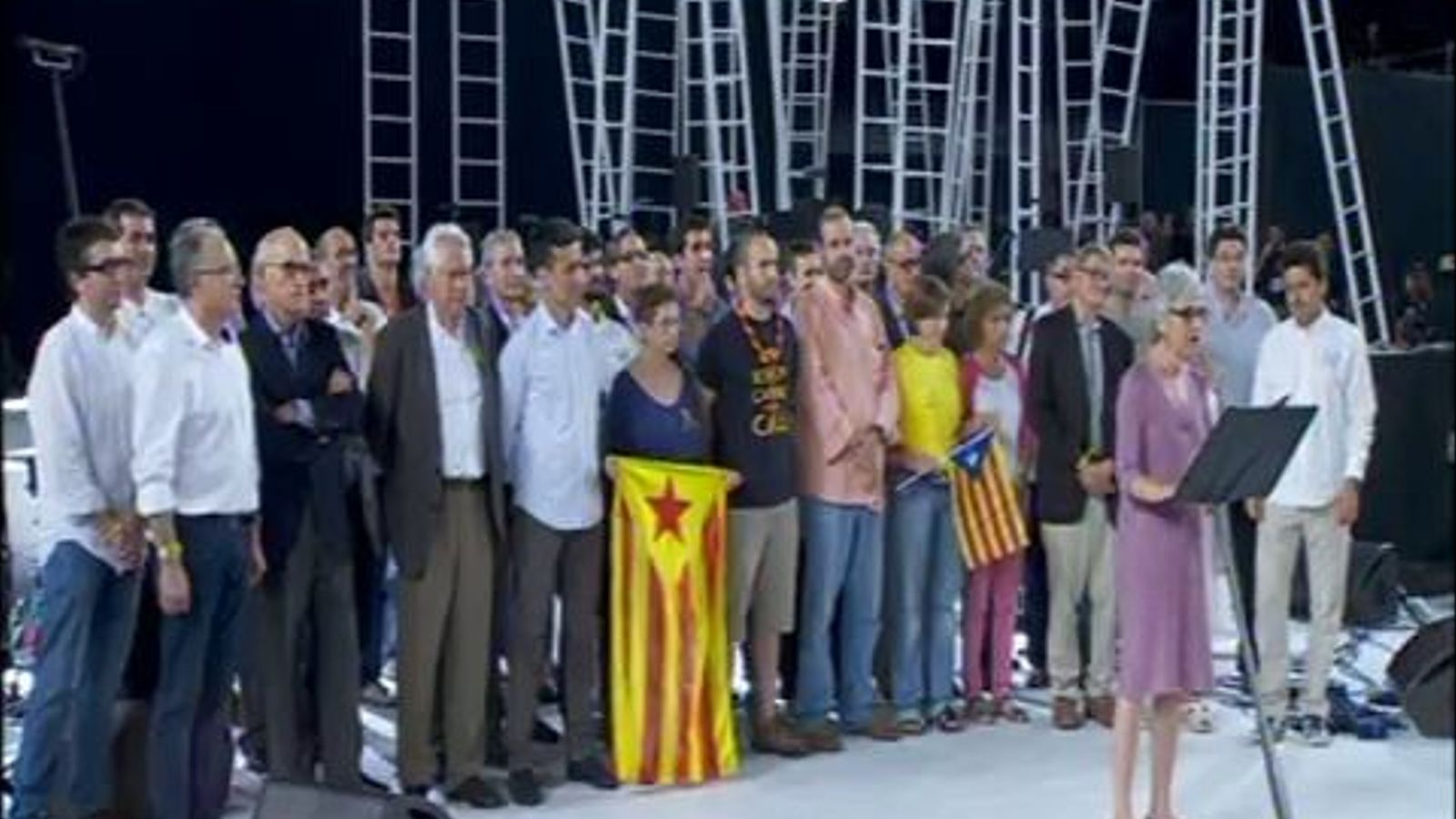 Discurs de la presidenta d'Omnium, Muriel Casals, al Concert per la Llibertat