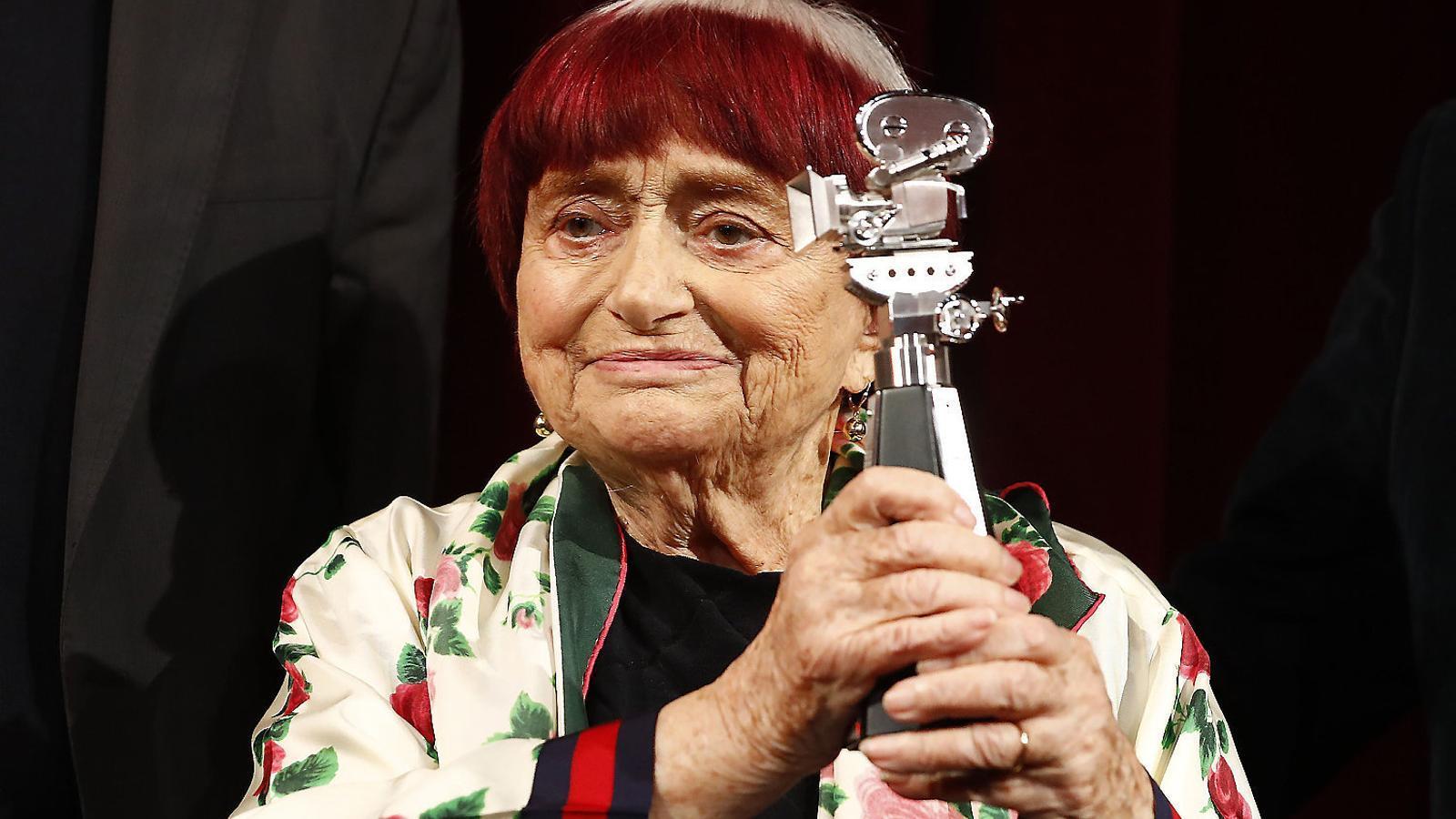 Agnès Varda va ser premiada a Berlín aprofitant la projecció de Varda par Agnès.