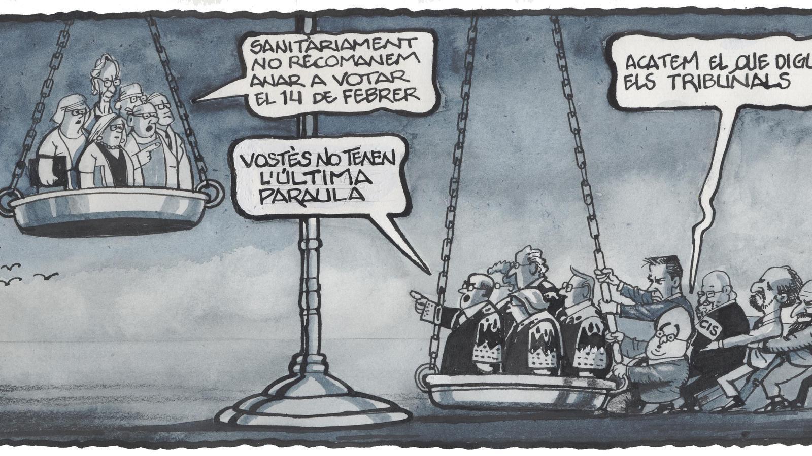 'A la contra', per Ferreres 24/01/2021