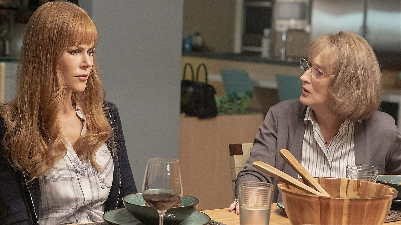 Nicole Kidman i Meryl Streep en una escena de la segona temporada de la sèrie Big little lies.
