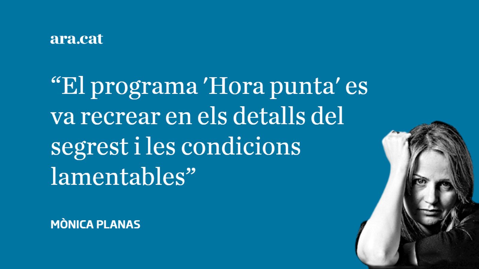 TVE: sensacionalisme amb Maria Àngels Feliu