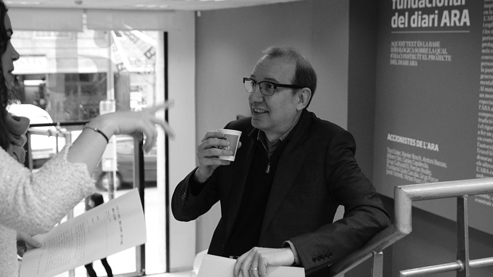 L'Editorial d'Antoni Bassas: 'CIU i ERC, més lluny, heu d'anar més lluny' (20/03/15)