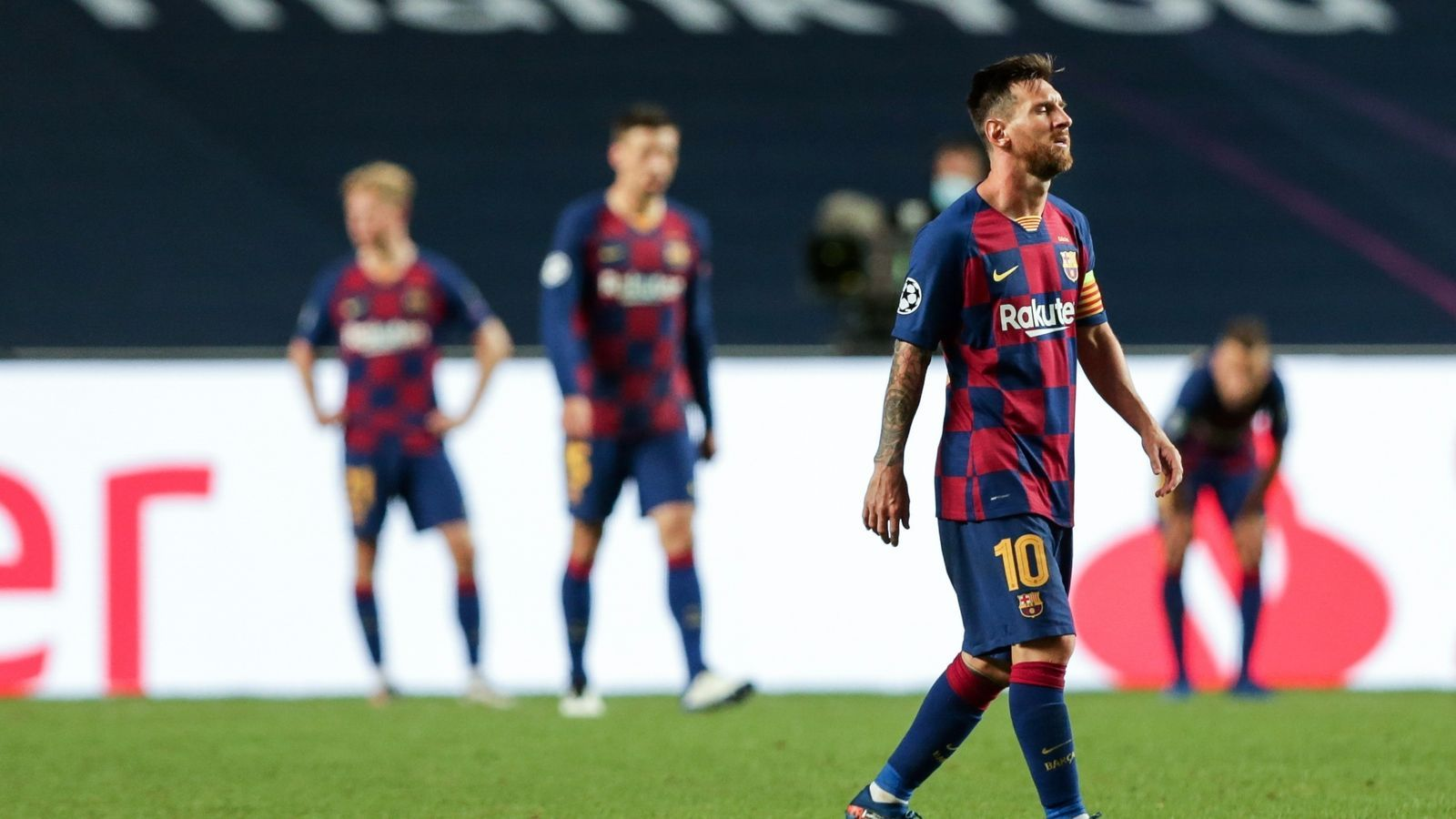 De Quim Torra a Carles Puyol, les reaccions a la decisió de Lionel Messi