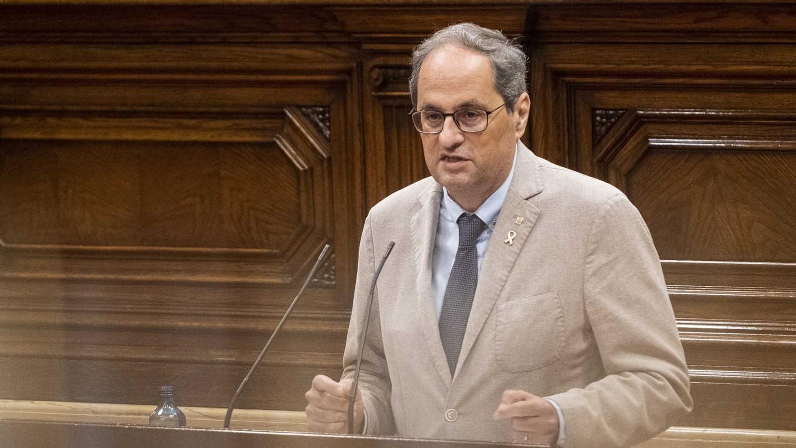 Pendents de la inhabilitació del president Torra, Ayuso es compara amb Catalunya, el món arribarà avui al milió de morts per covid-19 i el Barça debuta amb golejada a la Lliga, 4-0 al Vila-real: les claus del dia, amb Antoni Bassas (28/09/2020)