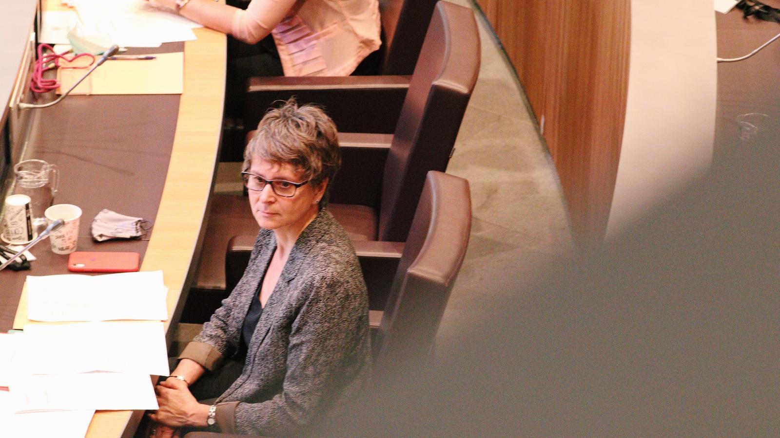 La consellera general del grup parlamentari socialdemòcrata, Susanna Vela. / PS