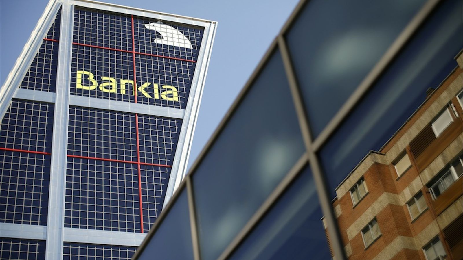 La seu central de Bankia, a Madrid, aquest divendres. / PAUL HANNA / REUTERS