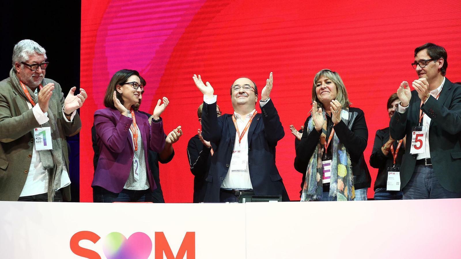 La nova direcció del PSC consolida l'autoritat d'Illa i Granados i reforça el paper dels diputats al Parlament