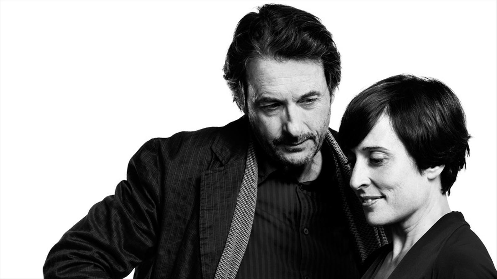Clara Segura i Ramon Madaula en el cartell de 'Jane Eyre'