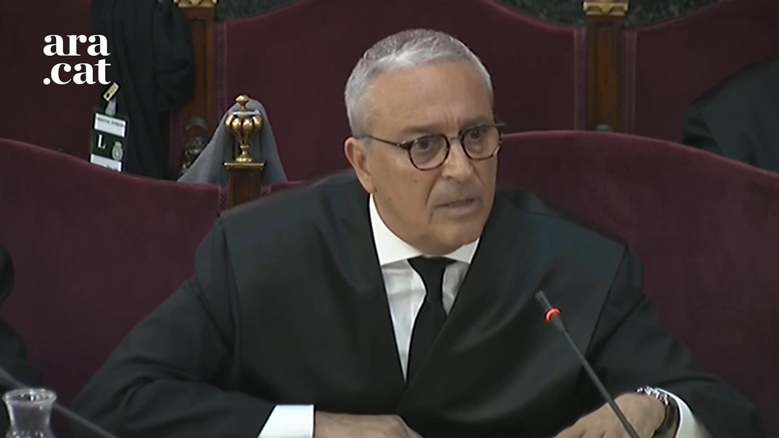 """""""El Govern no va efectuar cap declaració d'independència"""": Melero, en 10 frases"""