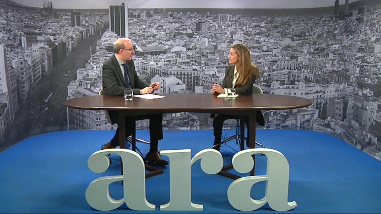 Entrevista d'Antoni Bassas a Esther Vera