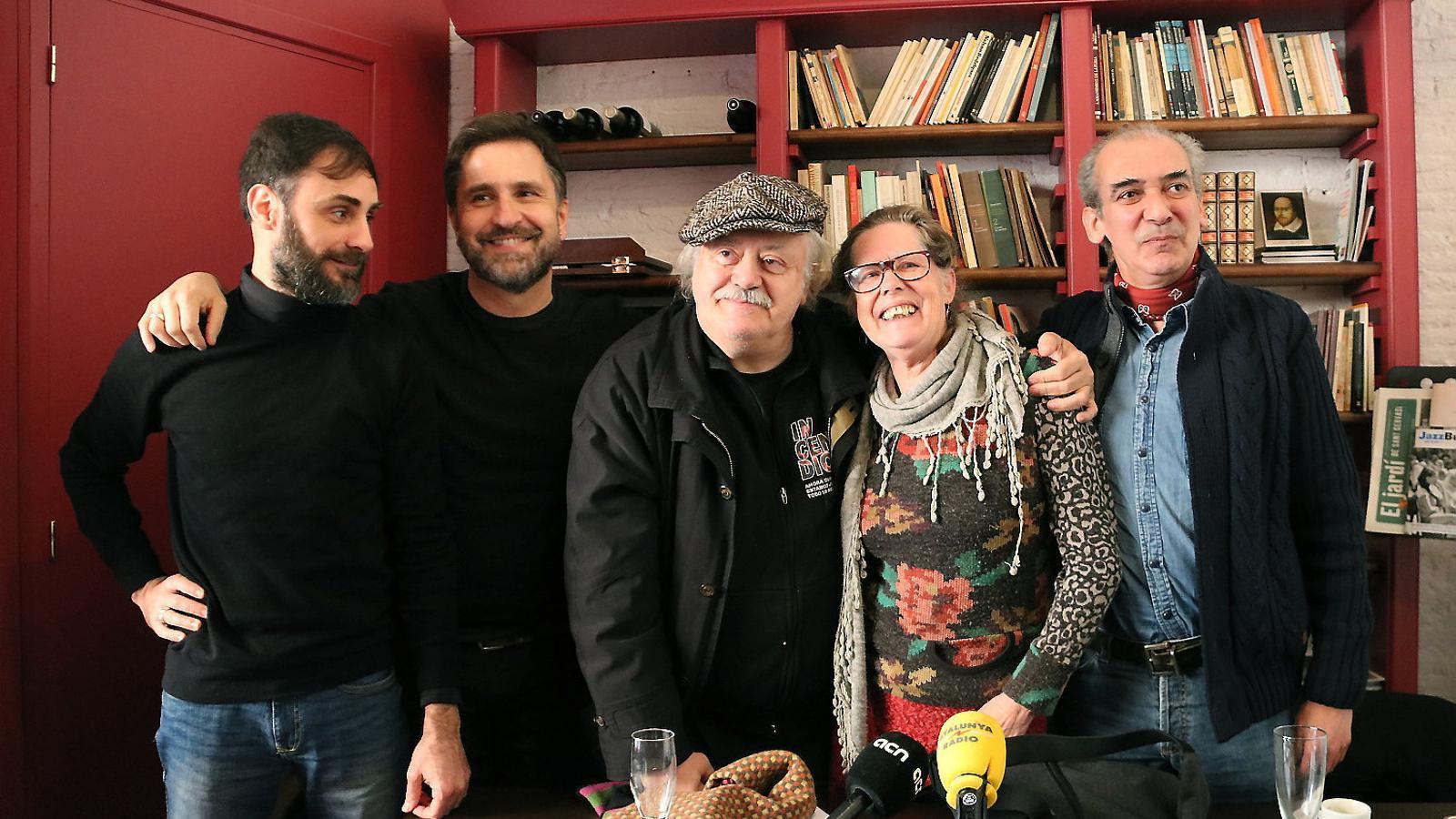 Jordi Busquets,  Paul Berrondo, Mario Gas, Elisa Crehuet  I Ricardo Moya.