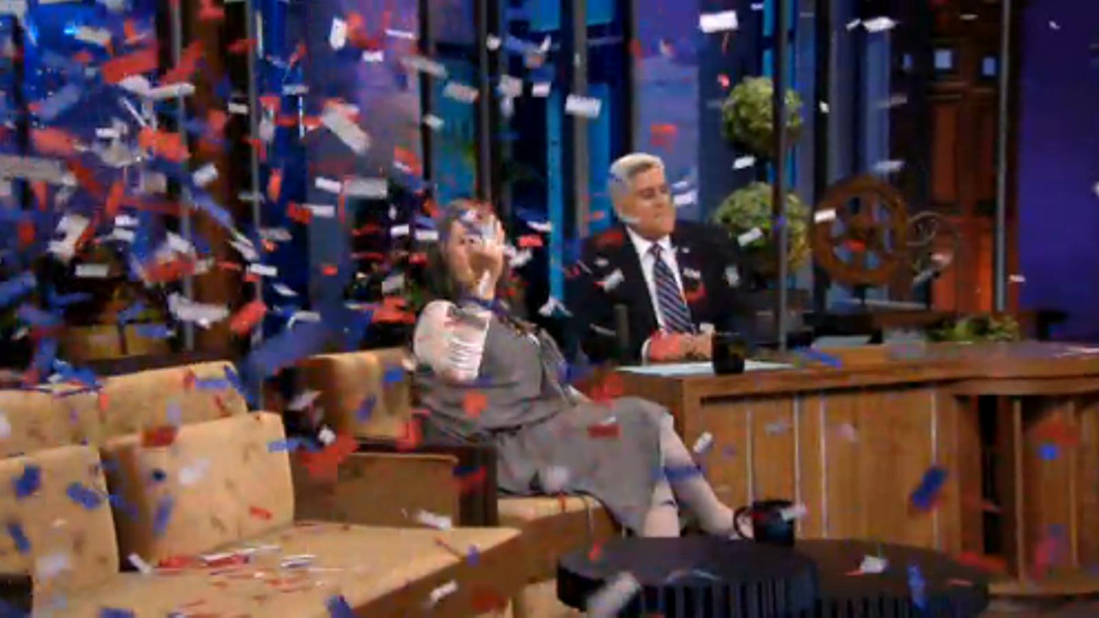 Roseanne Barr anuncia que es presenta a presidenta dels EUA