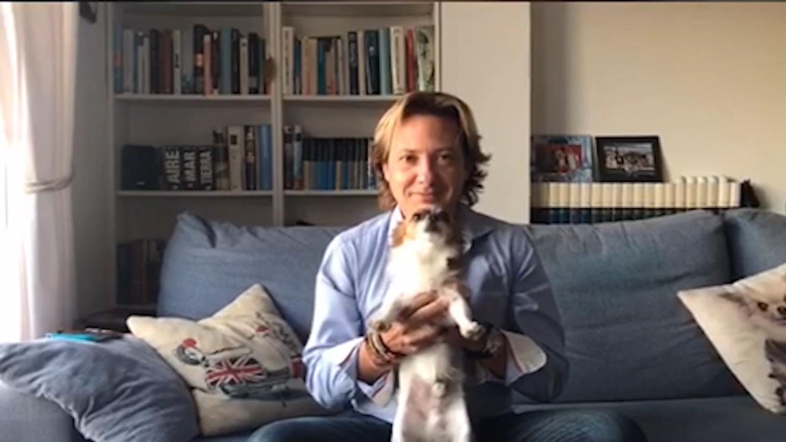 El líder de Vox a les Balears diu en un vídeo que el seu gos devora separatistes