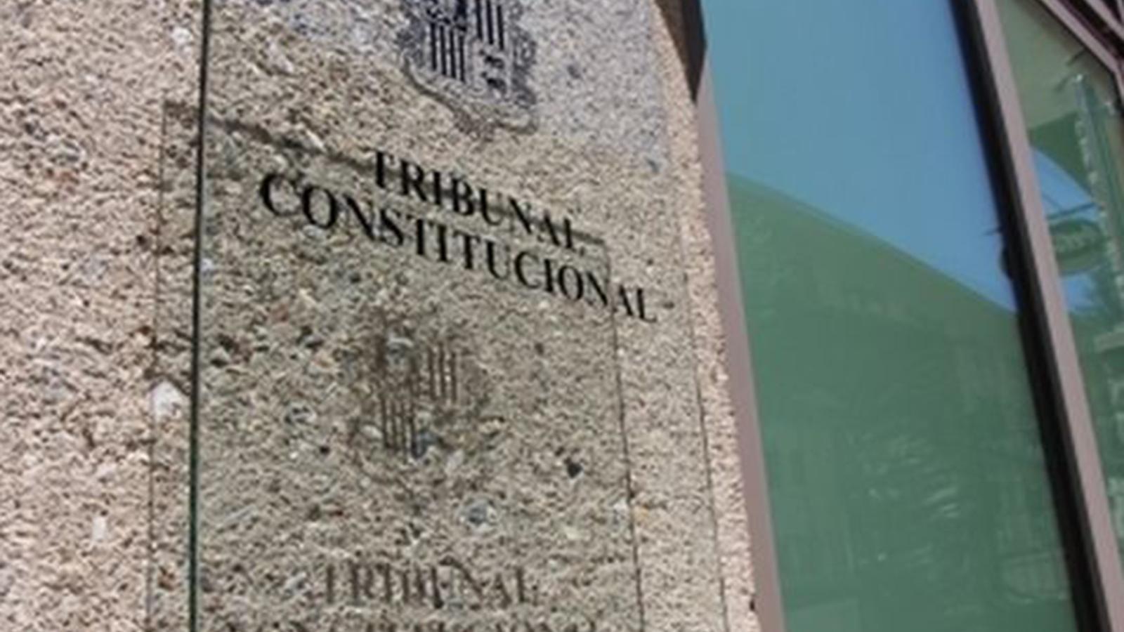 Seu del Tribunal Constitucional. / ARXIU