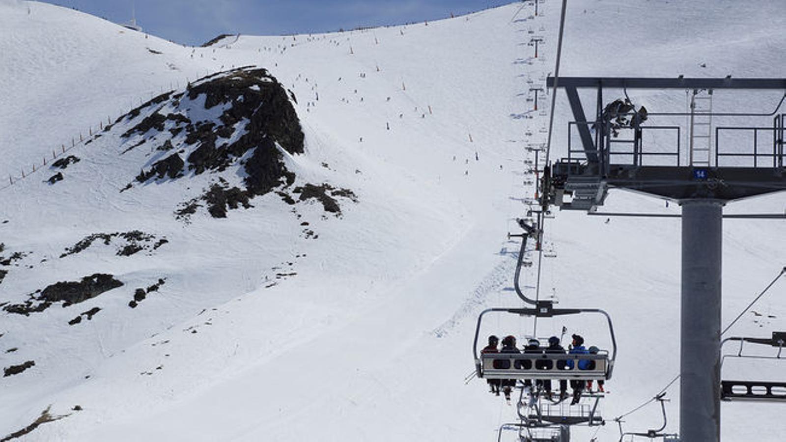Esquiadors a Grandvalira / GRANDVALIRA
