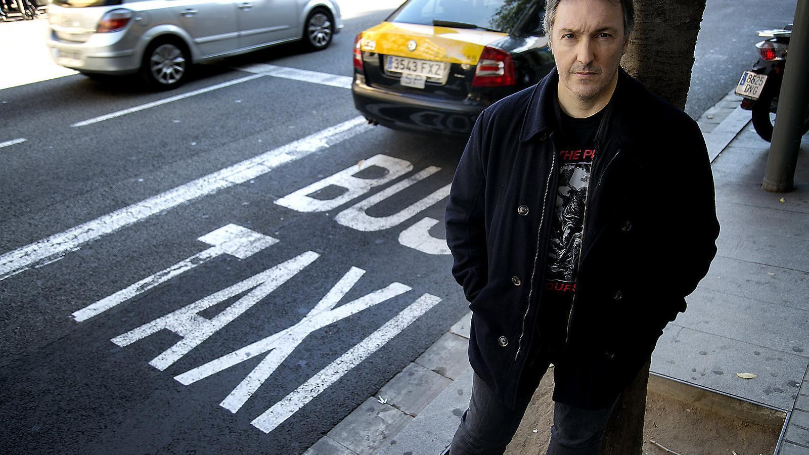 Carlos Zanón en una imatge recent a Barcelona.