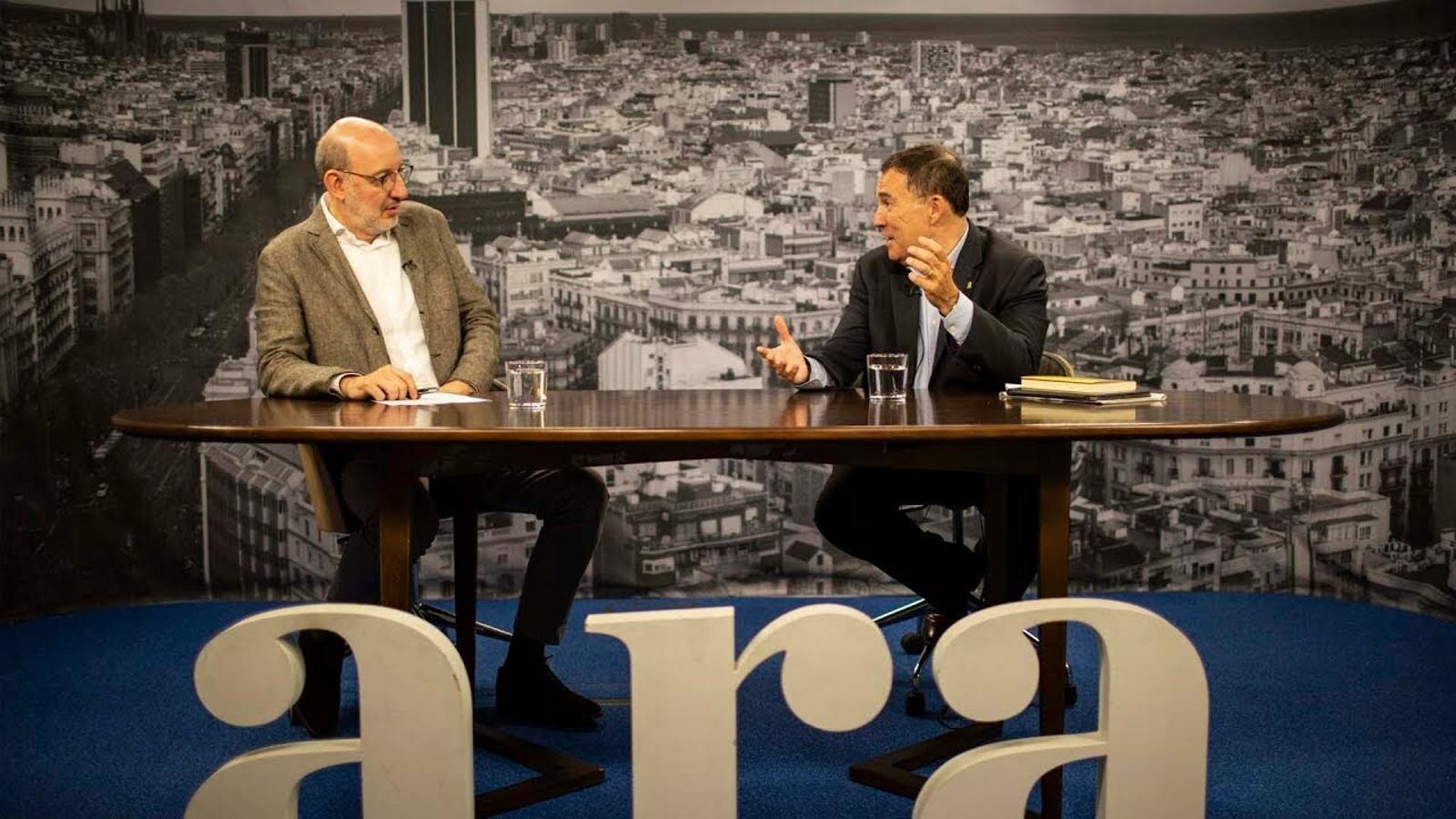 Entrevista d'Antoni Bassas a Jaume Alonso-Cuevillas
