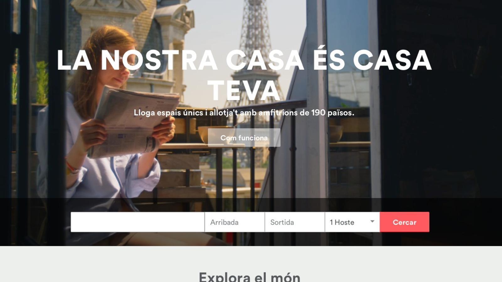 La justícia europea s'inclina per considerar Airbnb una companyia de la informació, a diferència d'Uber
