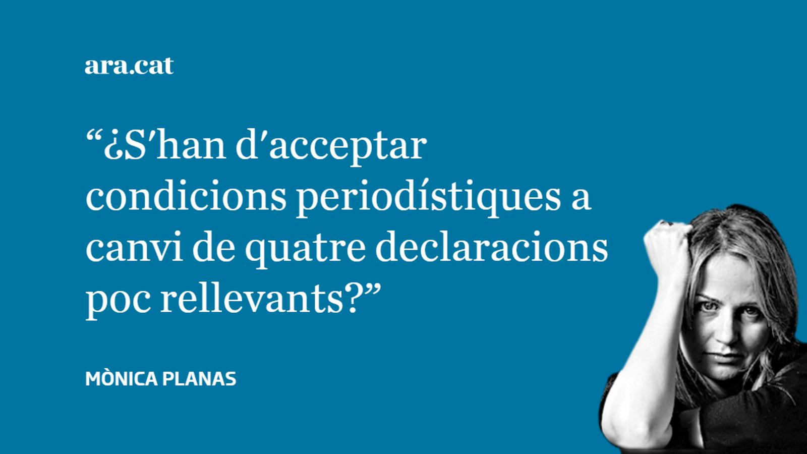 Puigdemont posa condicions a TV3