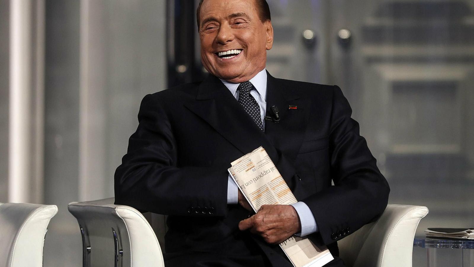 L'ex primer ministre italià Silvio Berlusconi en una imatge recent.