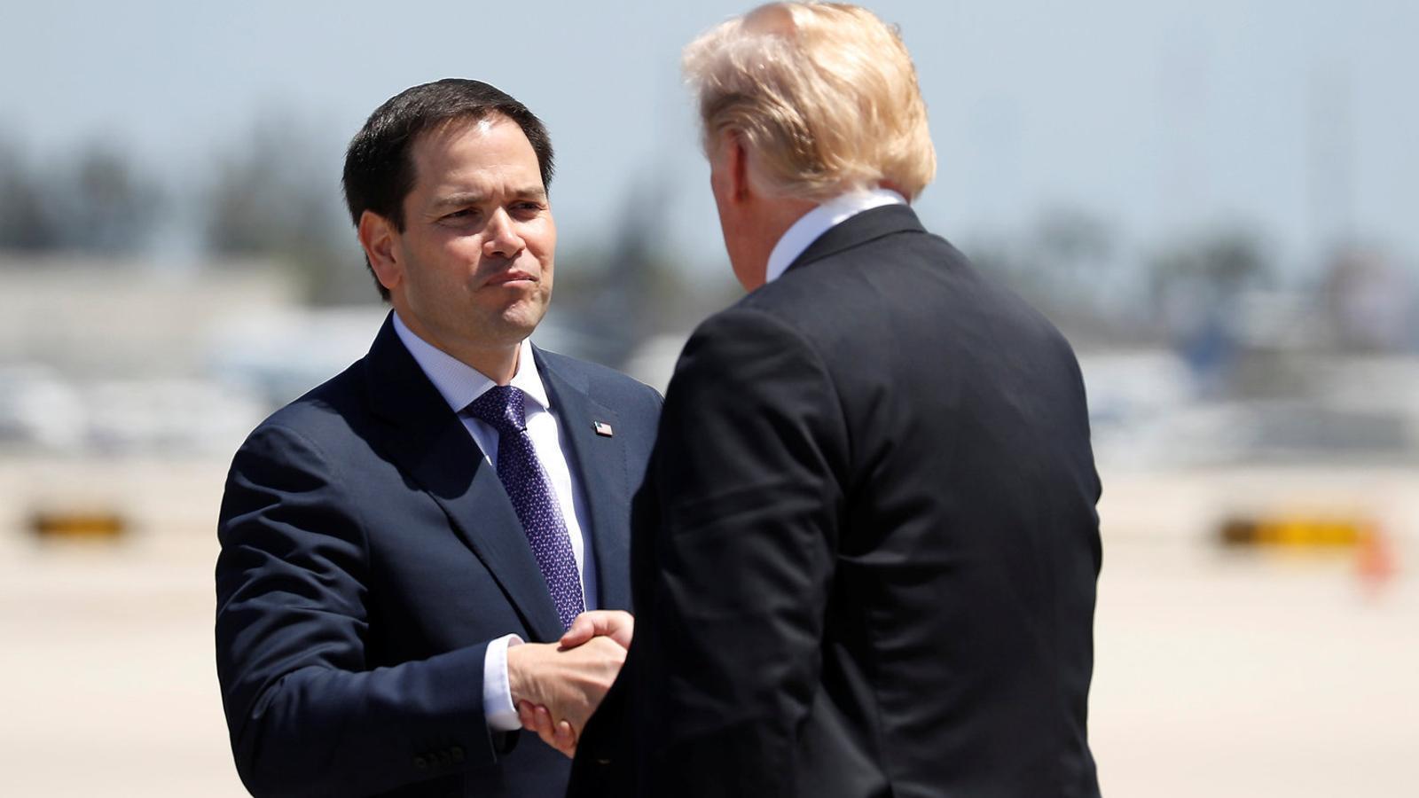 El senador republicà de Florida Marco Rubio ha jugat un paper clau en el procés. / KEVIN LAMARQUE / REUTERS