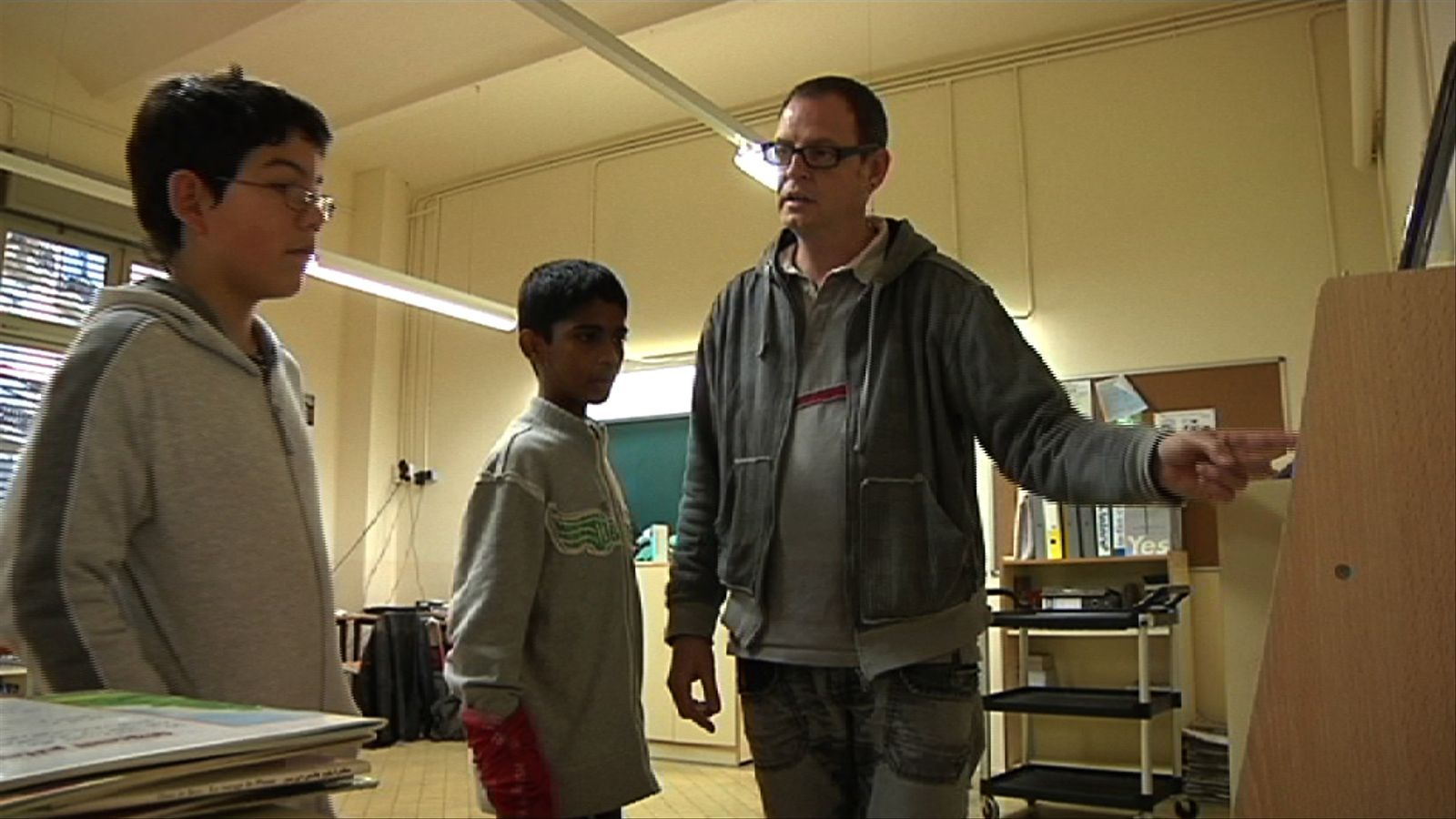 ARA Mestres: Des de fa cinc anys Carles Casanovas és el reponsable de la biblioteca de l'escola