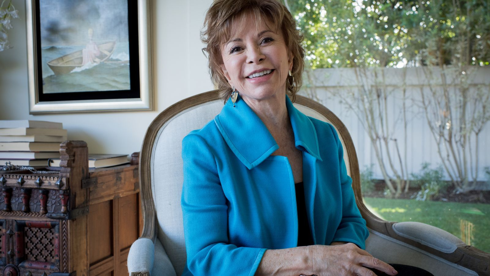 Isabel Allende rep la medalla d'honor del premi nacional de literatura d'Estats Units