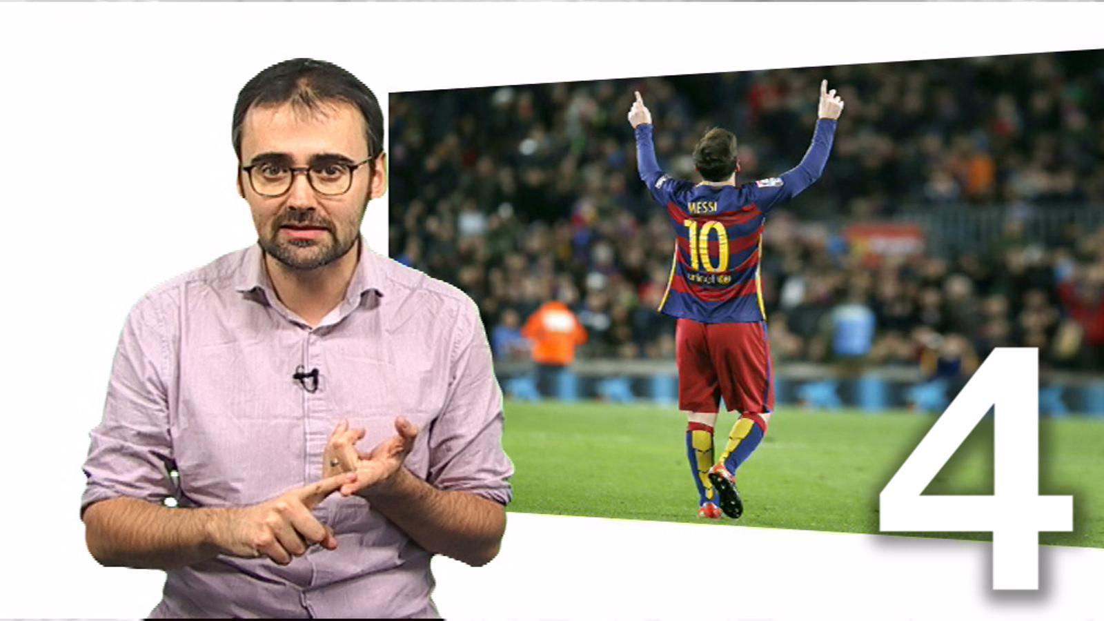 5 raons per les quals Messi és el millor jugador de la història