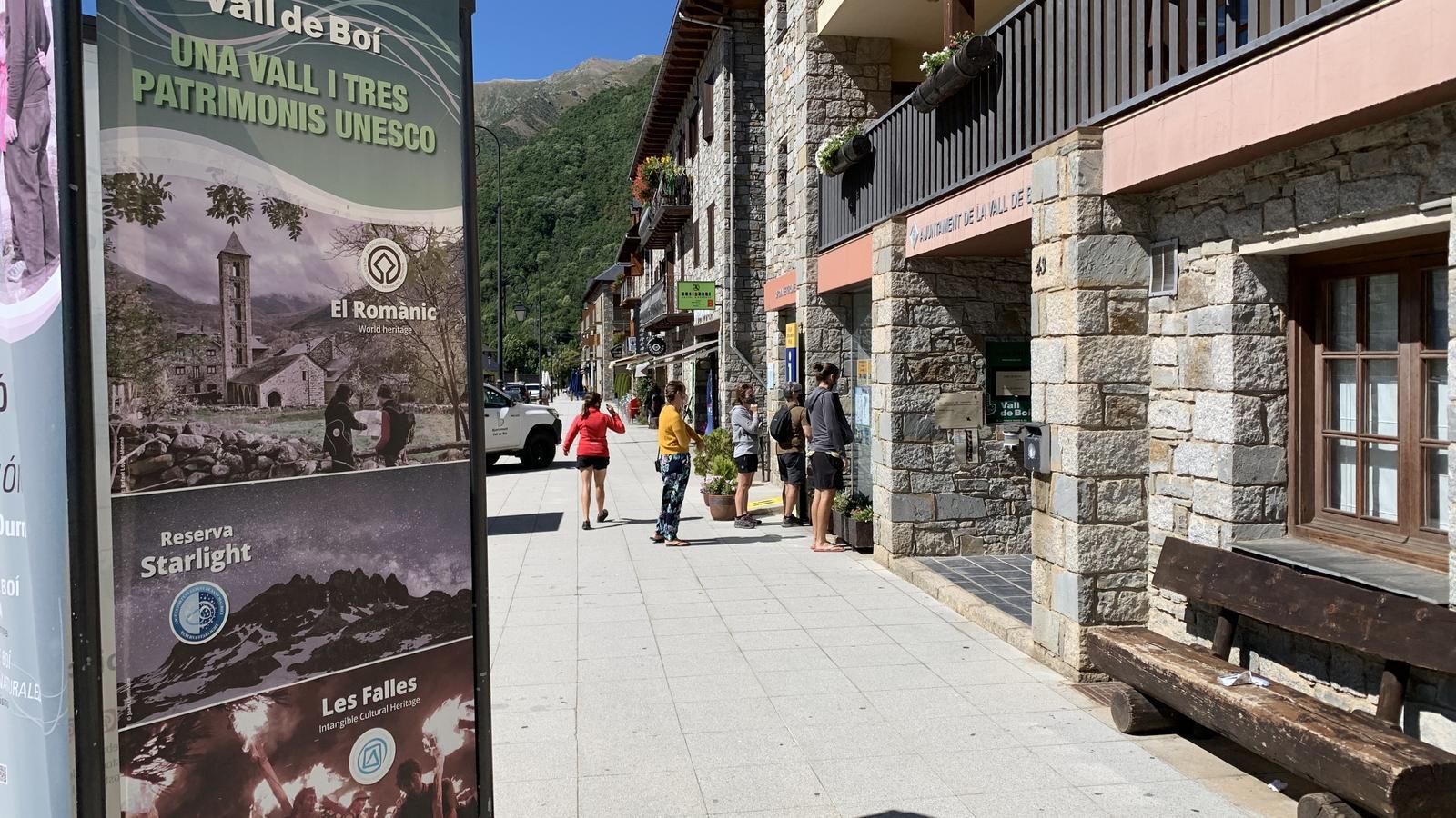 L'Ajuntament de la Vall de Boí, a Barruera. / G.L.T.