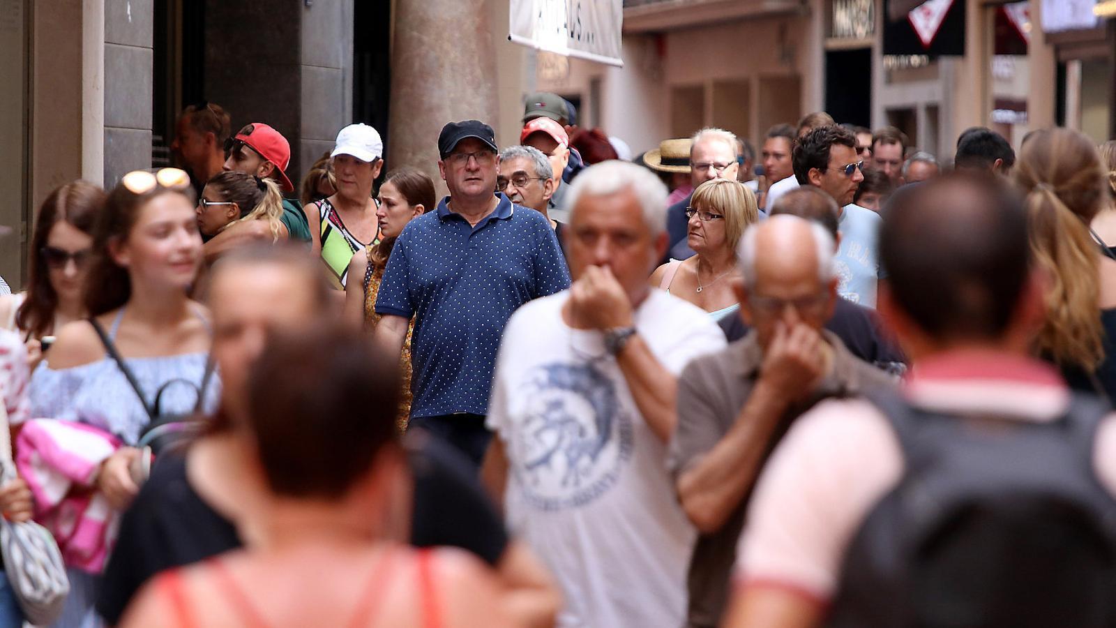 Platja de Palma - l'Arenal és una de les zones amb més densitat turística, segons el Consell de Mallorca.