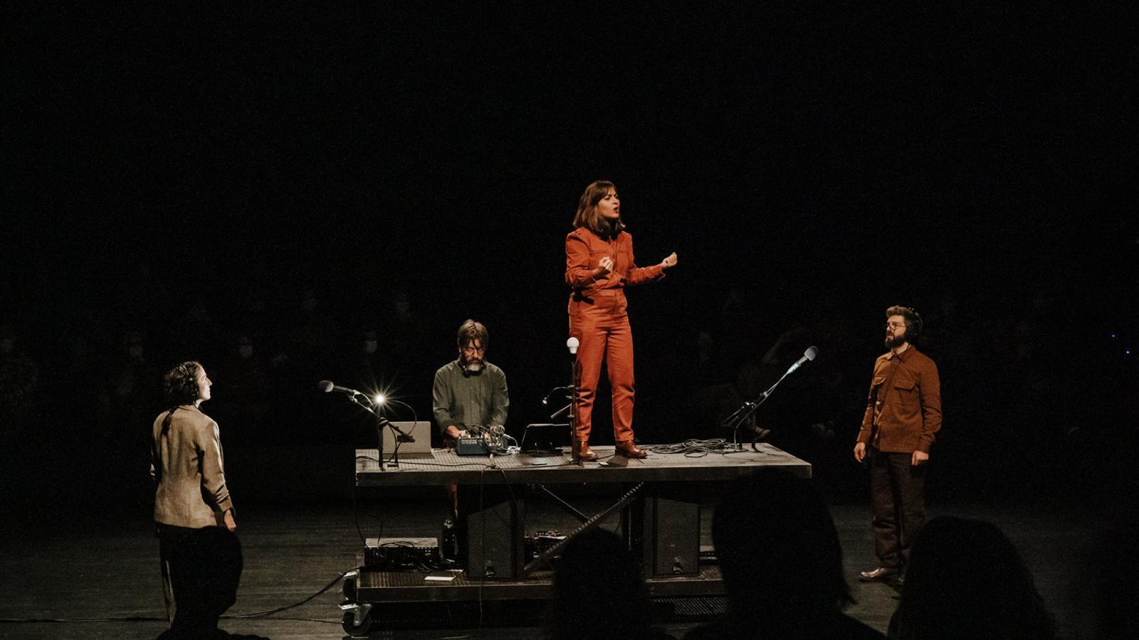 Mos Maiorum estrena Turba al Teatre Lliure.
