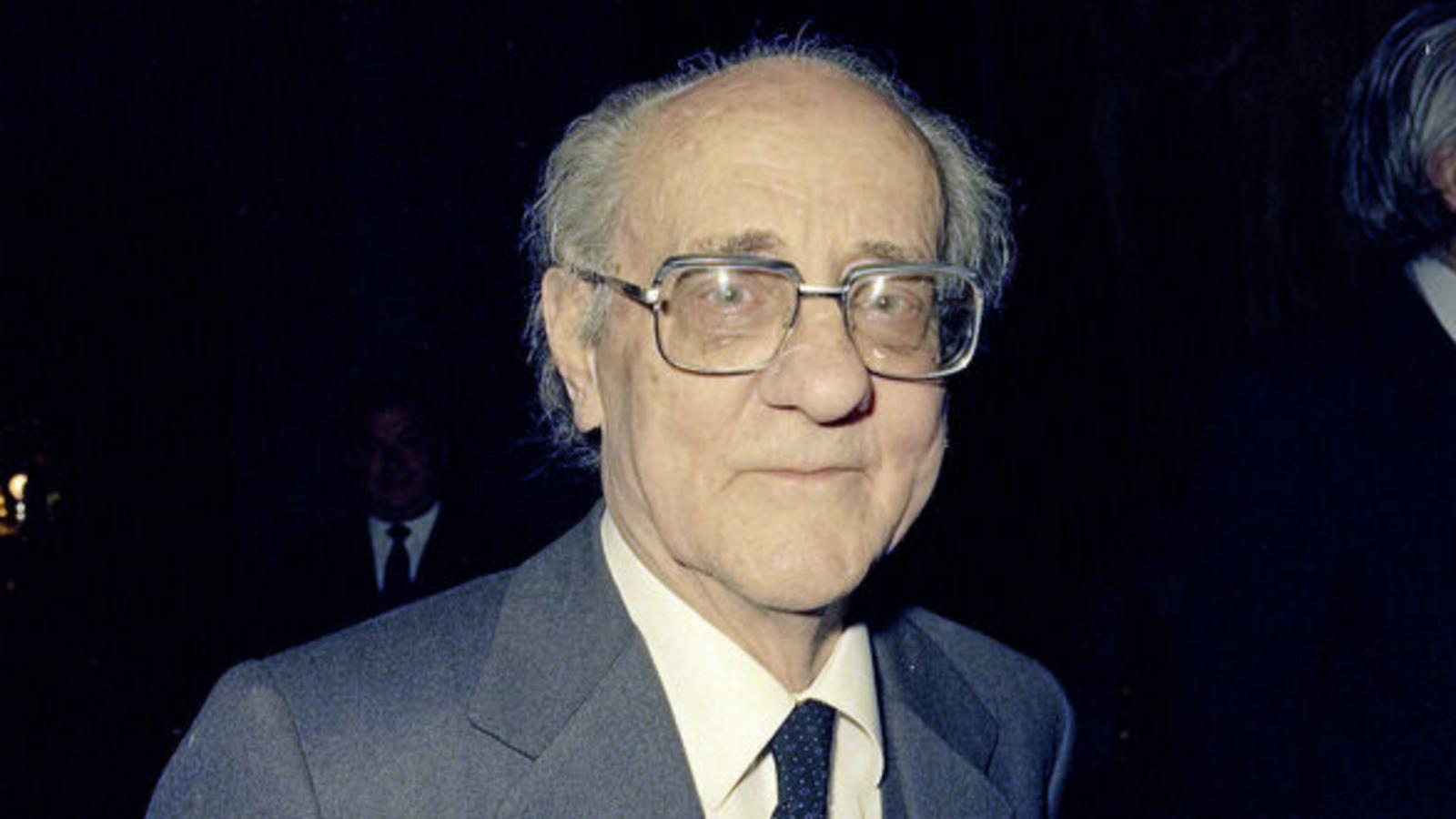 Francesc de Borja Moll.