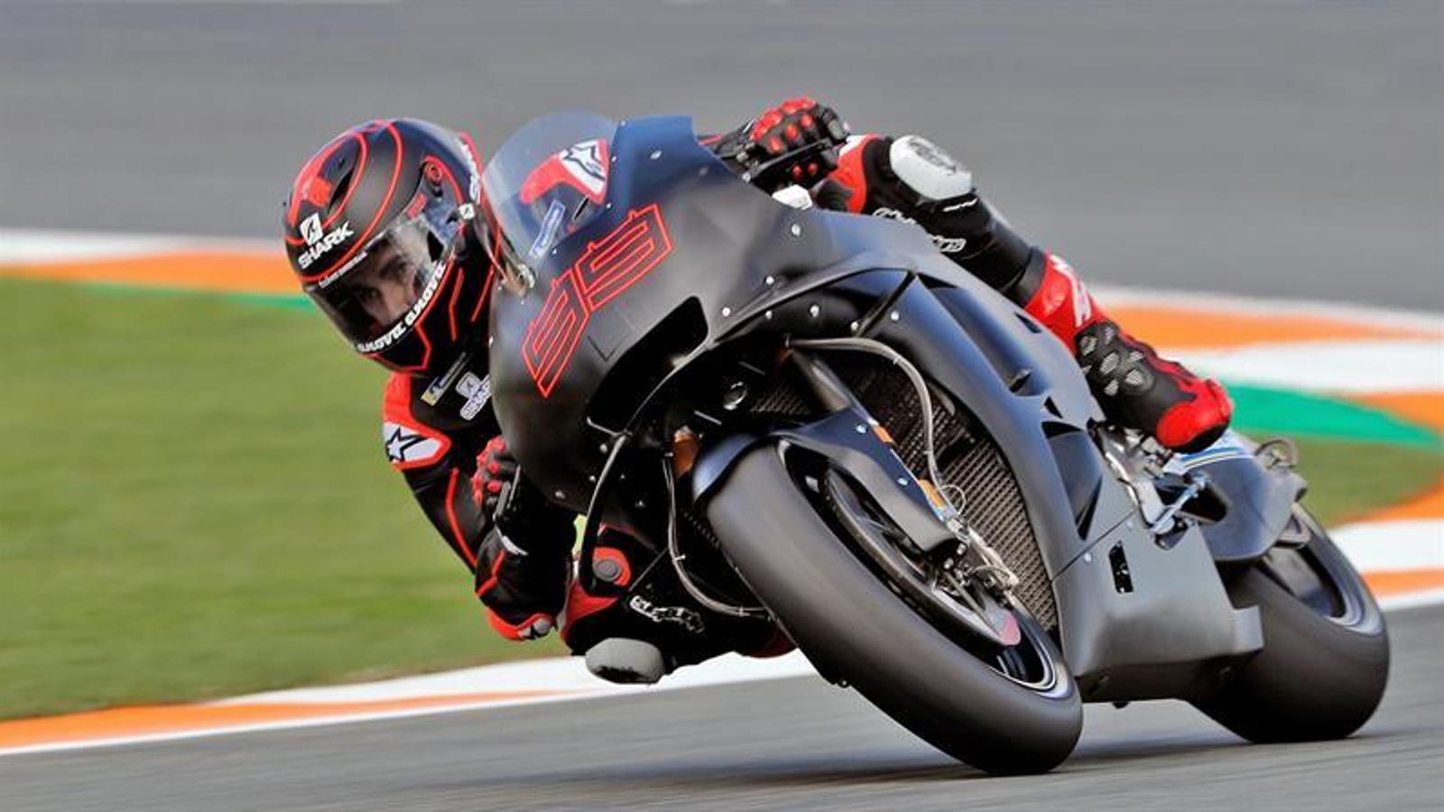 Jorge Lorenzo debuta amb Honda amb un temps discret als primers entrenaments de la temporada