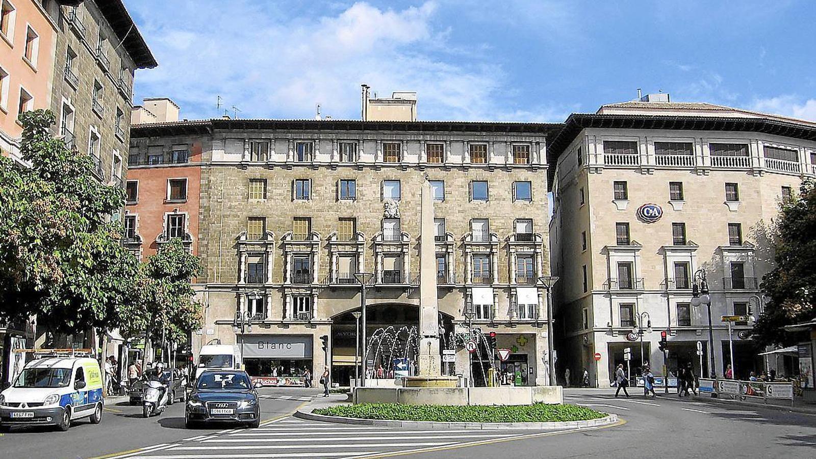 La plaça Joan Carles I de Palma.
