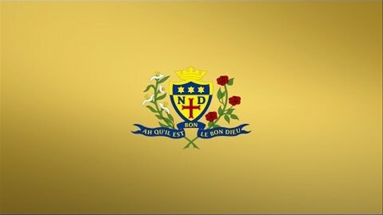 Vídeo promocional de la Notre Dame High School, de Glasgow