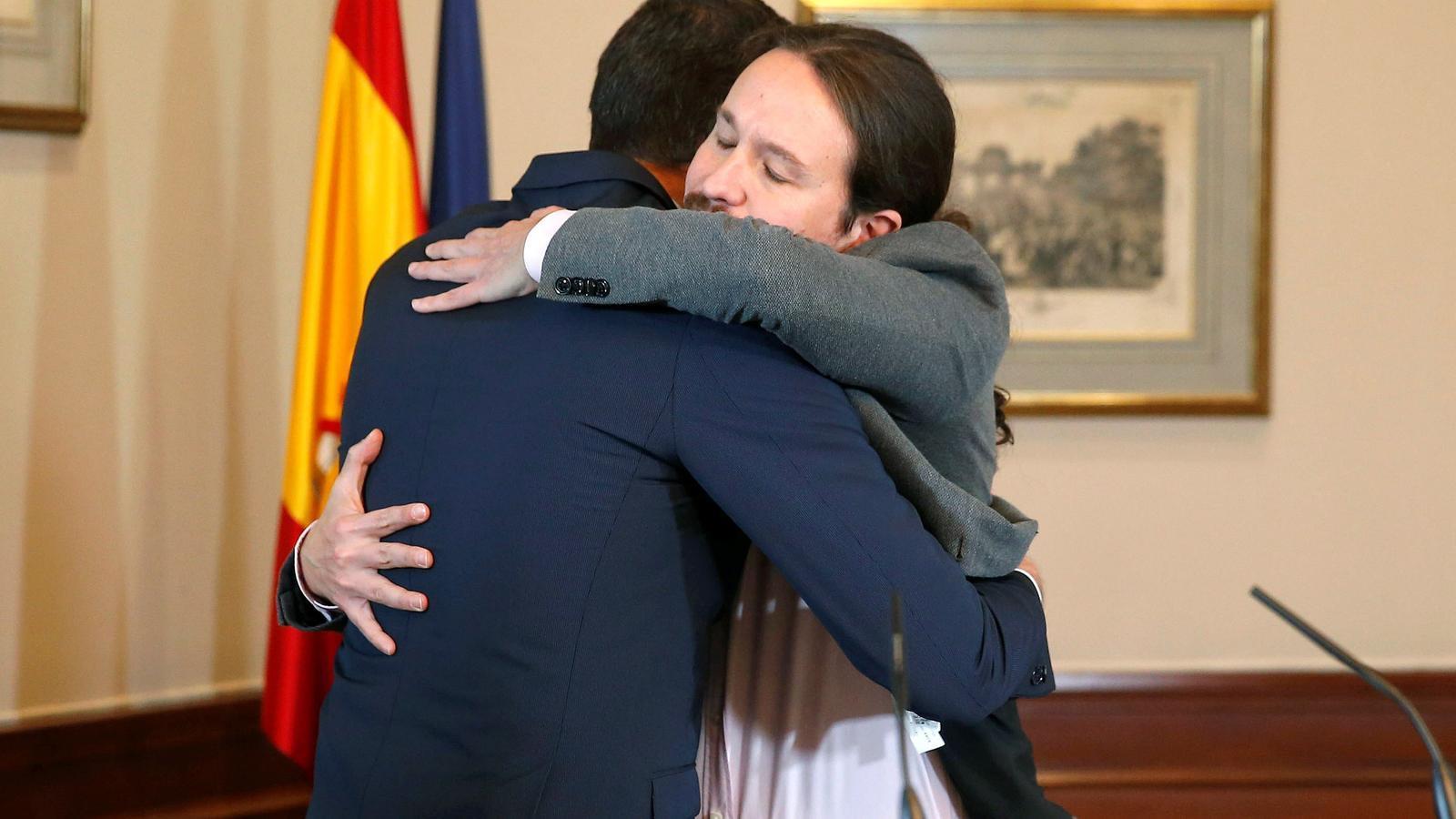Sánchez i Iglesias encara estan lluny d'aconseguir els vots necessaris per a la investidura