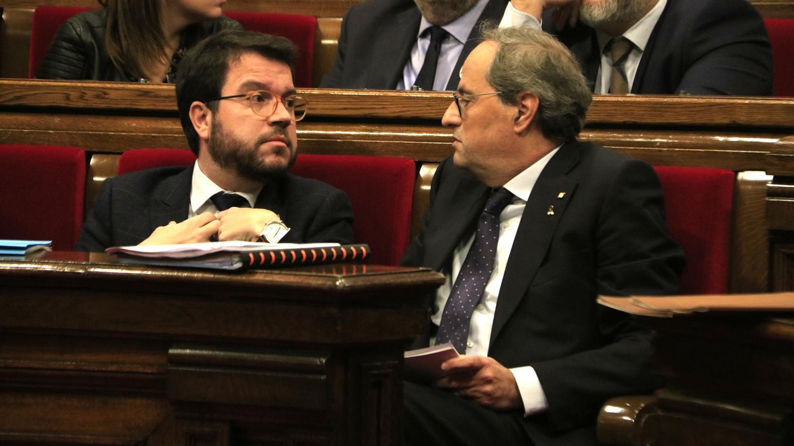 Torra exigeix que el diàleg entre governs inclogui la seva interlocució directa amb Sánchez