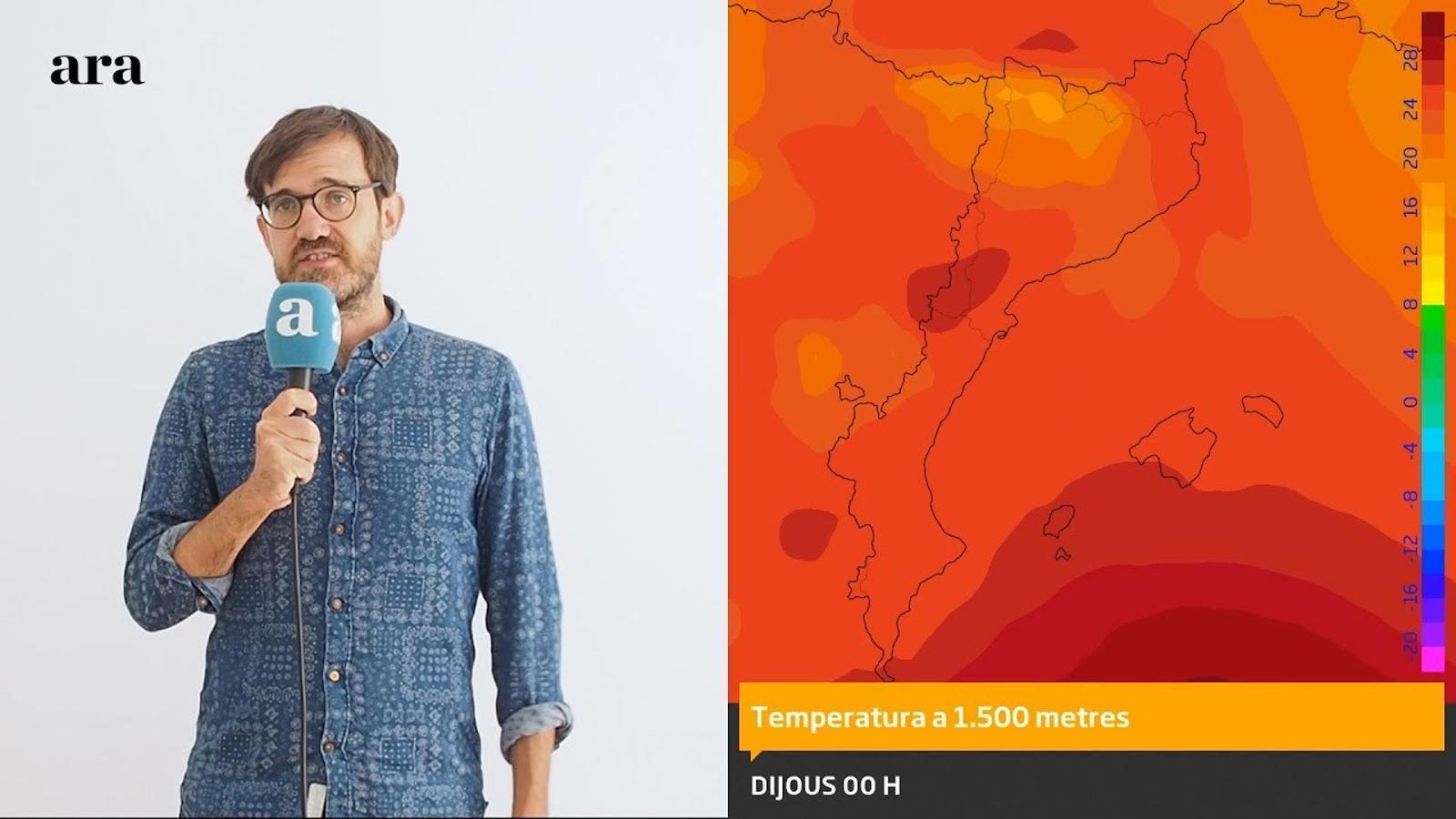 La méteo: un nou episodi de calor forta acostarà els termòmetres als 40 graus