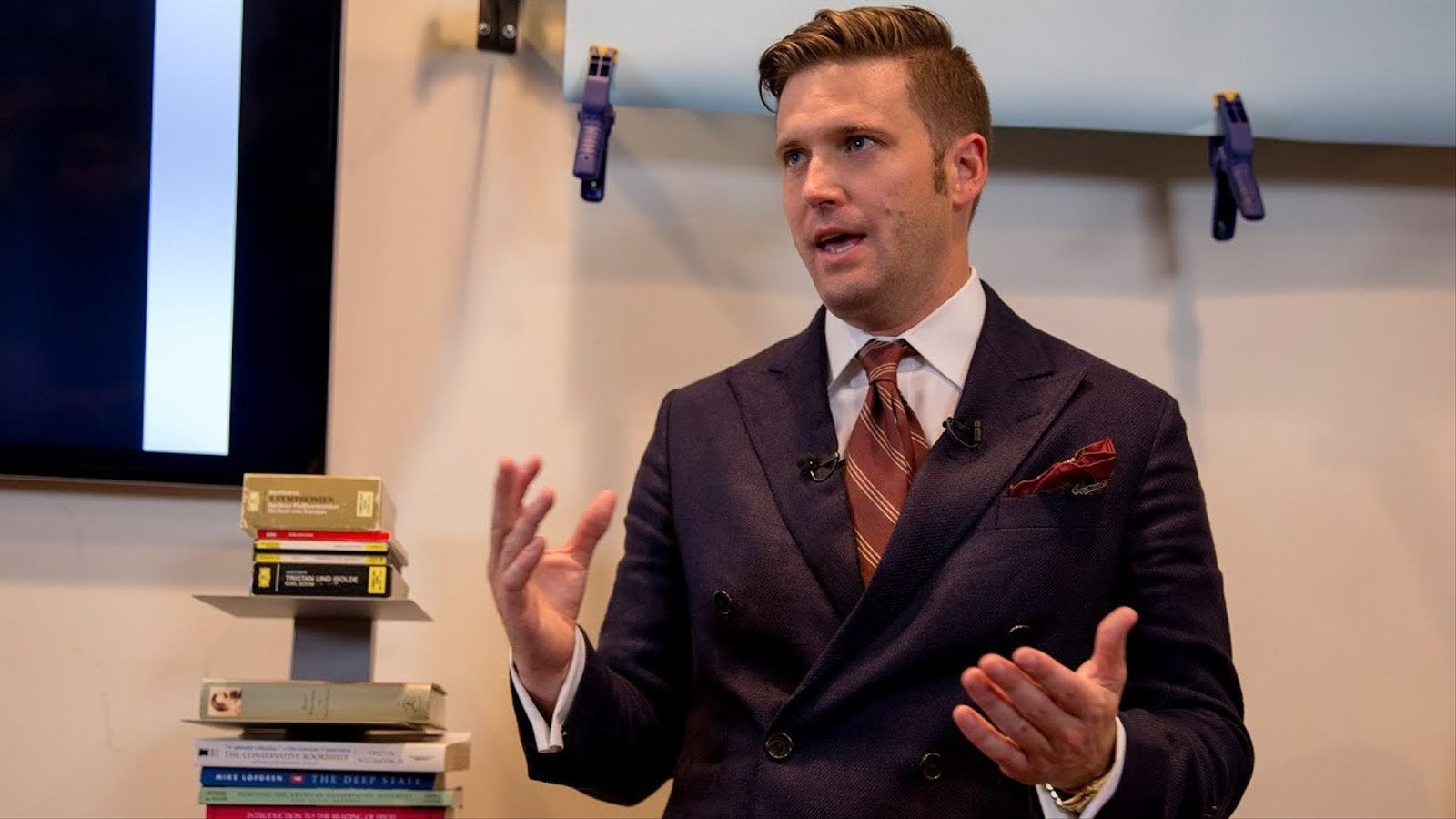 Richard Spencer, supremacista blanc.