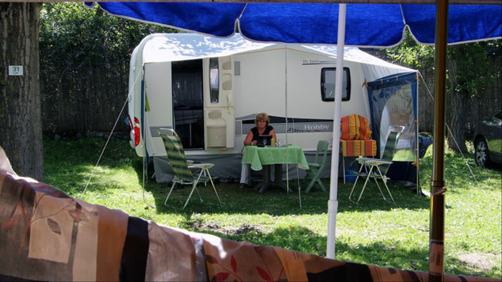 Una caravana en un càmping. / ARXIU ANA