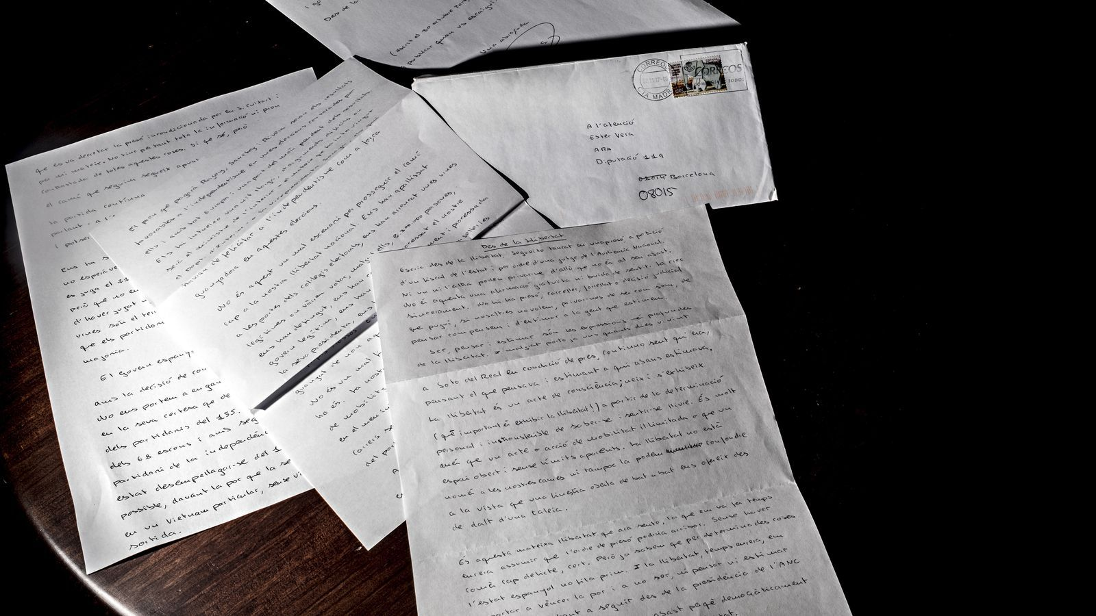 Read the first letter by Jordi Sànchez from Soto del Real prison